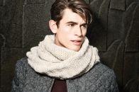 Стильный мужской шарф: выбираем лучший вариант и носим его правильно