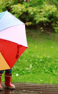 Модные детские зонты