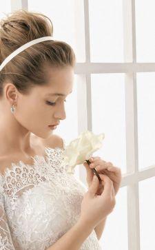 Красивые свадебные платья с открытыми плечами