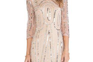 Модное платье с пайетками: с чем сочетать