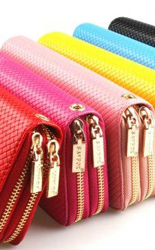 Модные женские кошельки 2017: актуальные цвета и модели