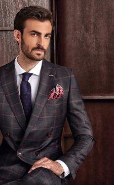 Модные деловые мужские костюмы 2017