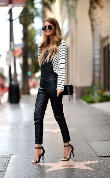 С чем носить модные черные босоножки: самые удачные сочетания