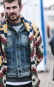 Модные мужские кардиганы: как выбрать и с чем носить в 2017