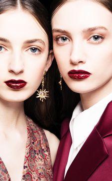 Делаем правильно бордовый макияж: секреты мастеров