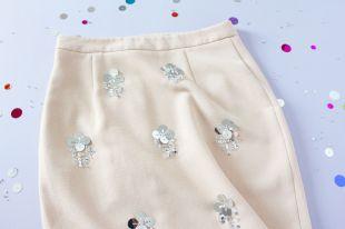 Как оригинально украсить юбку: несколько вариантов декорирования