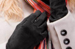 Женские замшевые перчатки: элегантность и комфорт