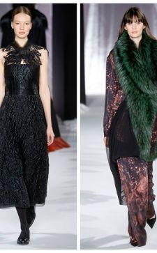 Модные аксессуары из меха