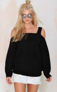 Кофта с открытыми плечами: модные свитера, блузки и водолазки
