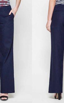 С чем носить женские летние брюки из льна