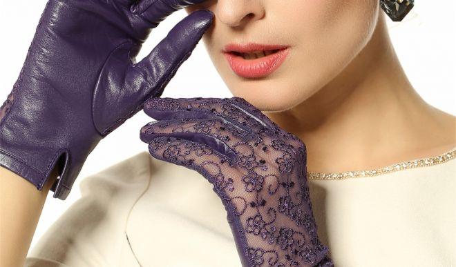 Кружевные перчатки: как носить и сочетать