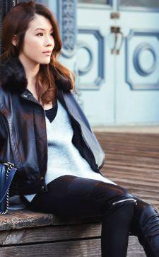 Модные кожаные куртки 2016 года