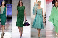 Зеленый цвет в одежде: стильные сочетания и яркие оттенки