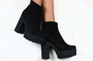 Модные замшевые женские ботинки: с чем носить и как ухаживать