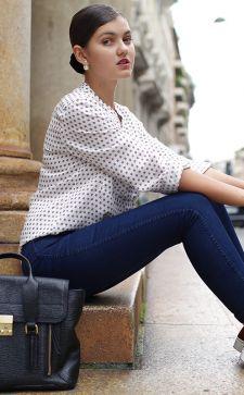 С чем носить женские слипоны