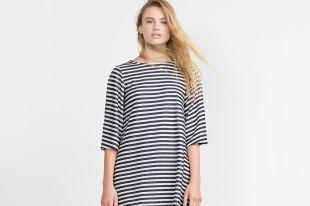 Модное платье в полоску: лучшие фасоны
