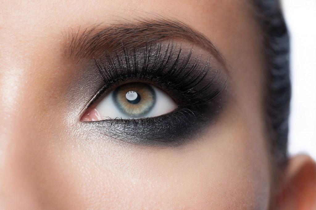 Макияж глаз на Новый год