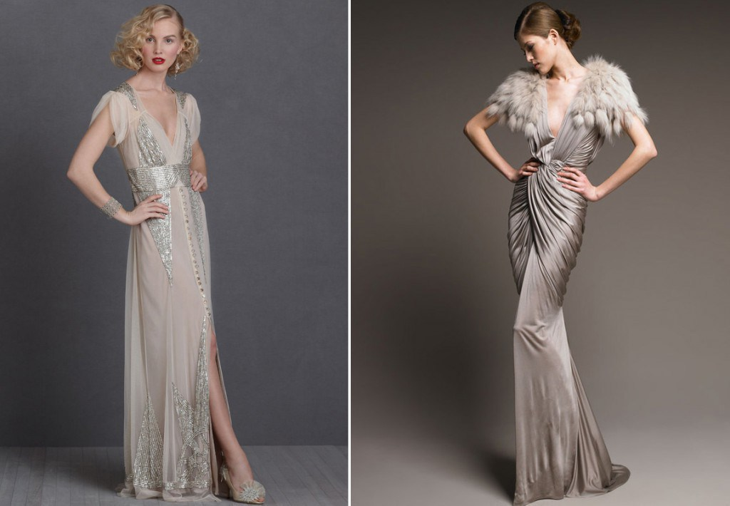 Модные платья 30-х