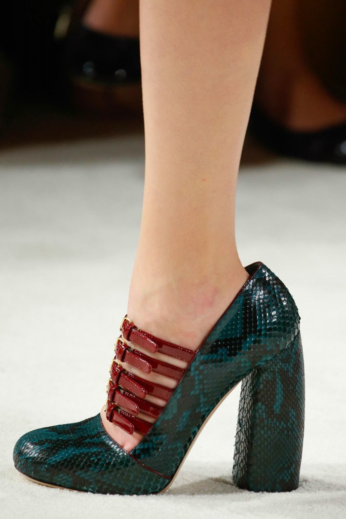 Обувь от Miu Miu