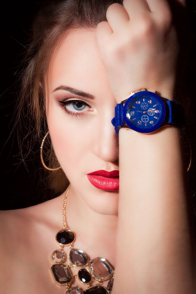 Синие часы