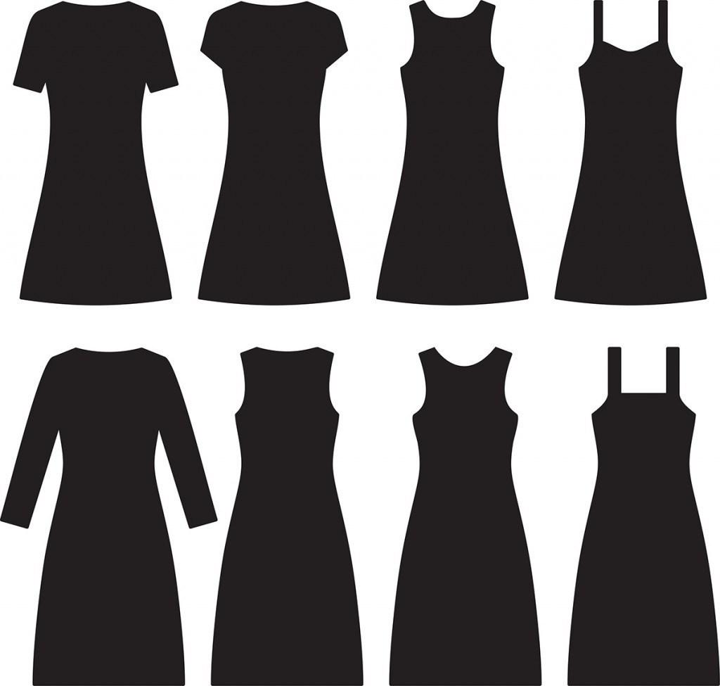Фасоны повседневного платья