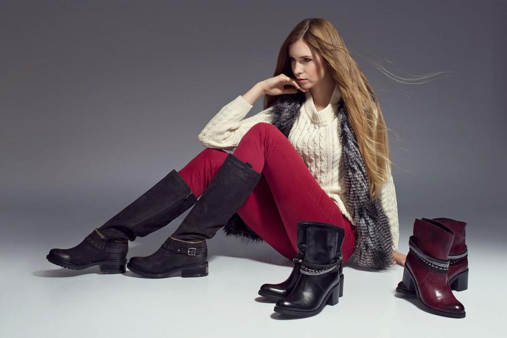 Модная обувь на зиму