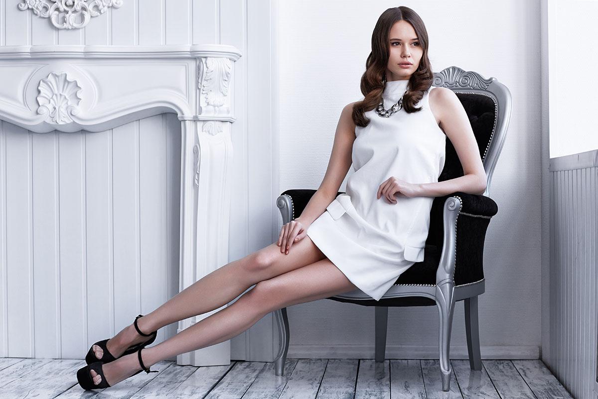 Черно-белая гамма в одежде 2016-2019 модный стиль 54 фото изоражения