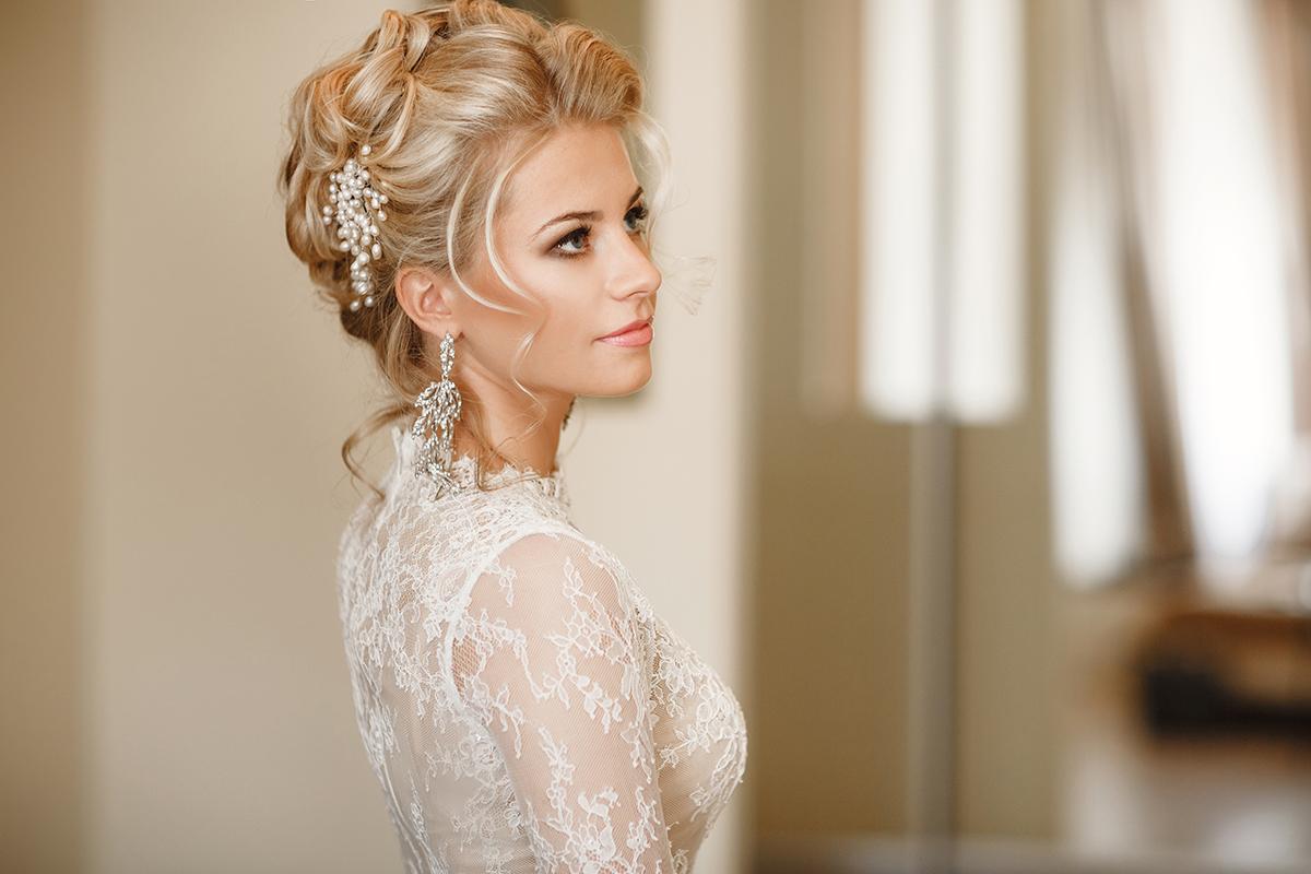 Фото причесок для невесты без фаты