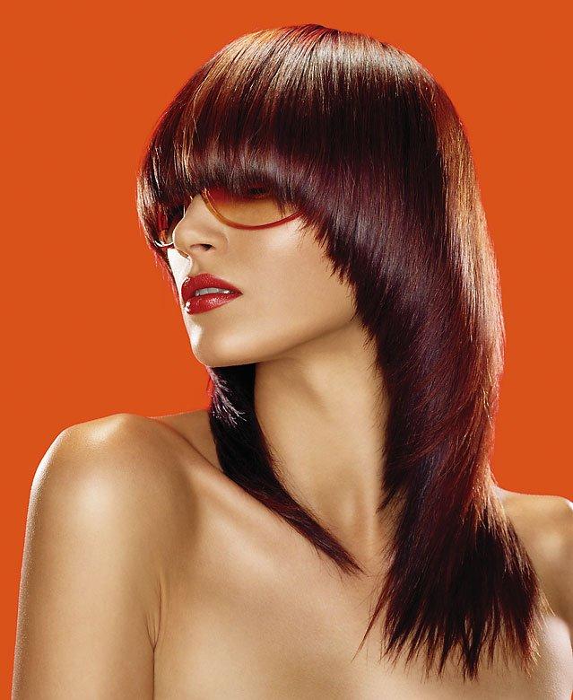 Стрижка сессон на средние волосы