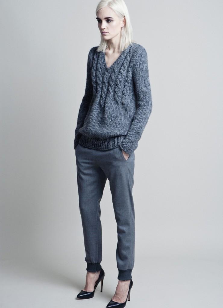 Трикотажные унисекс брюки