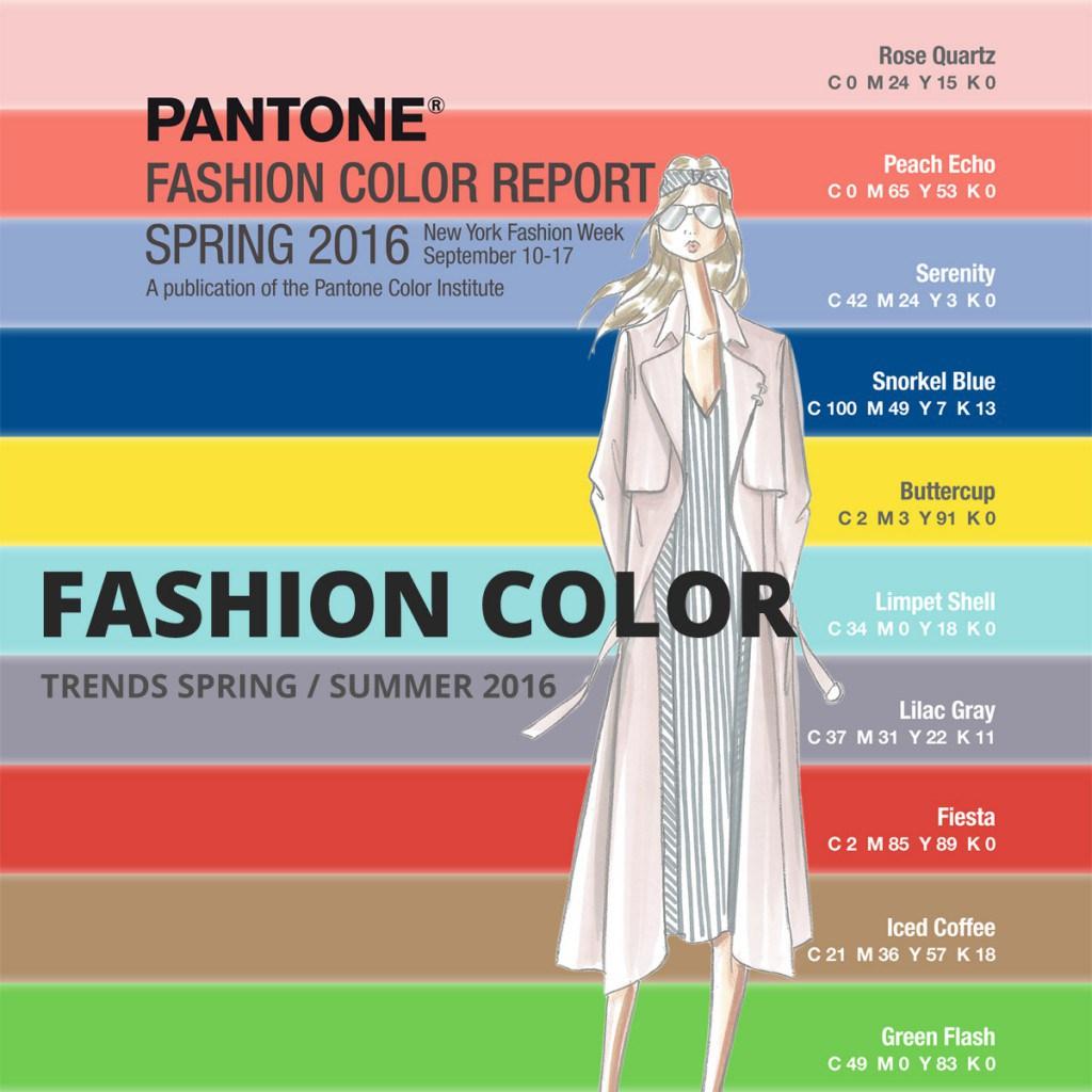 Модные цвета 2016 года по версии института цвета Pantone