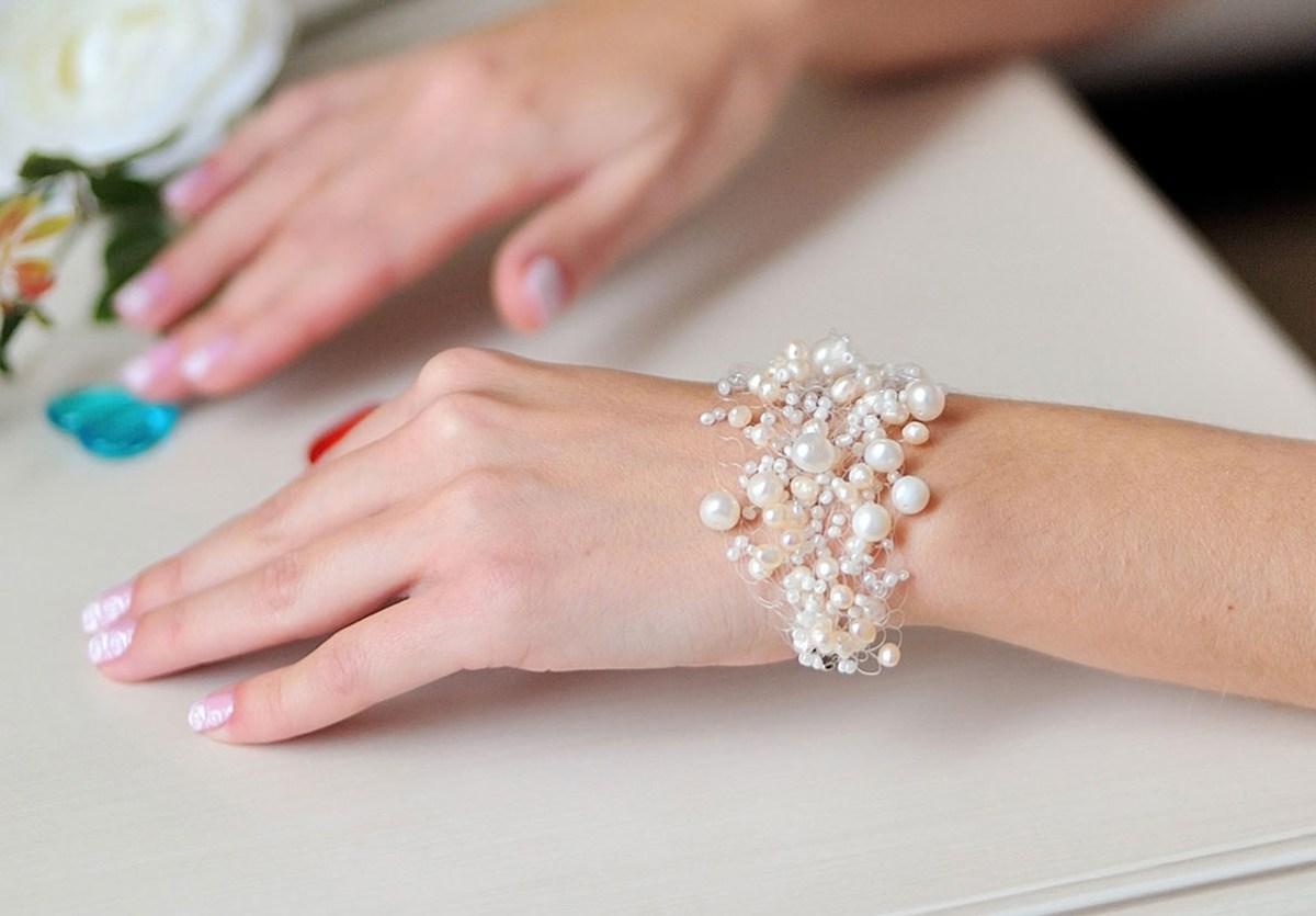 Браслеты и украшения на свадьбу своими руками
