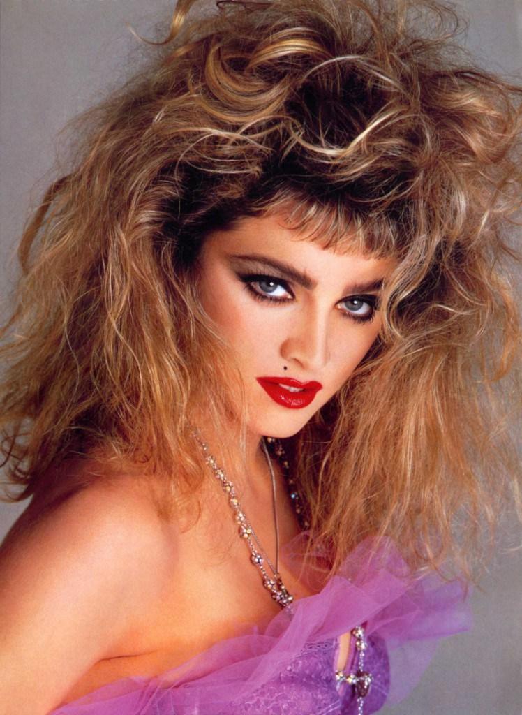 Образ Мадонны в 80-х