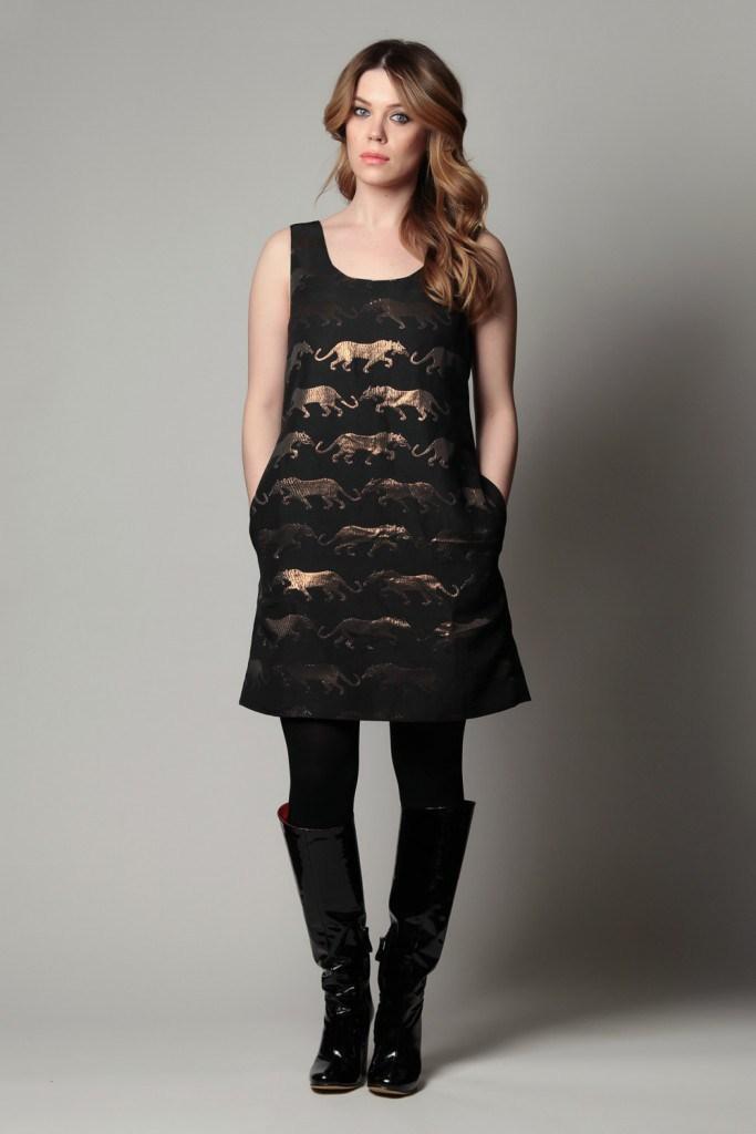 Сапоги с платьем