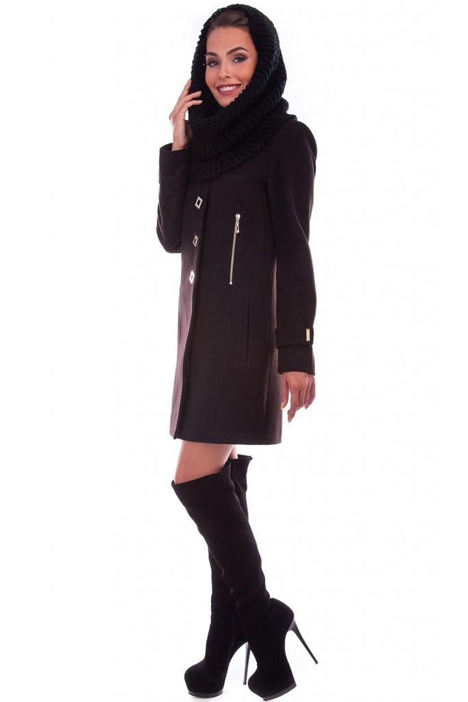 Пальто со снудом