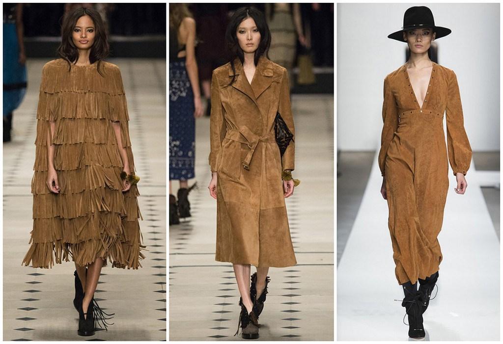 Замша - модный тренд 2016