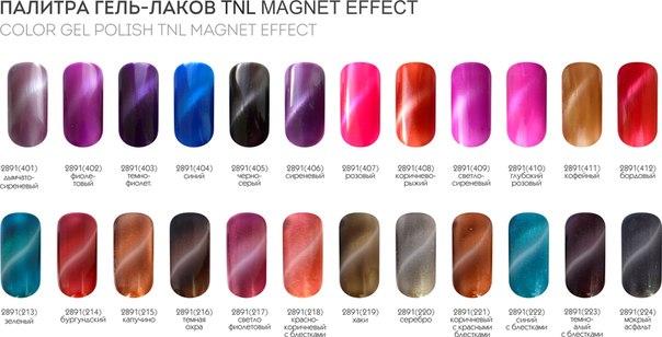 TNL Magnet палитра лаков