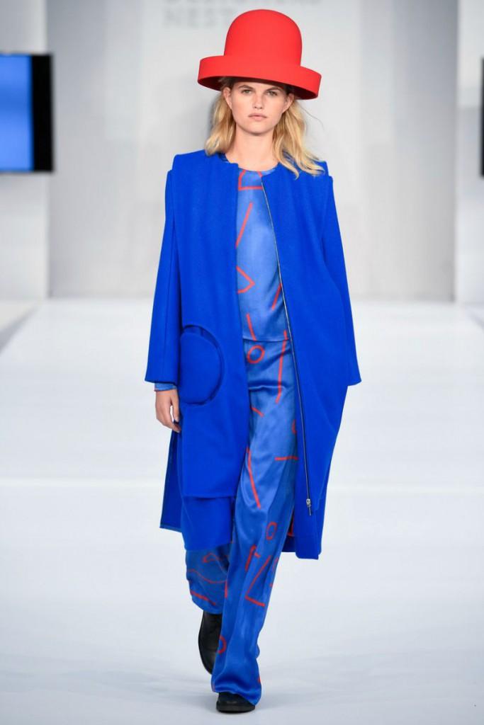 Модные оттенки синего