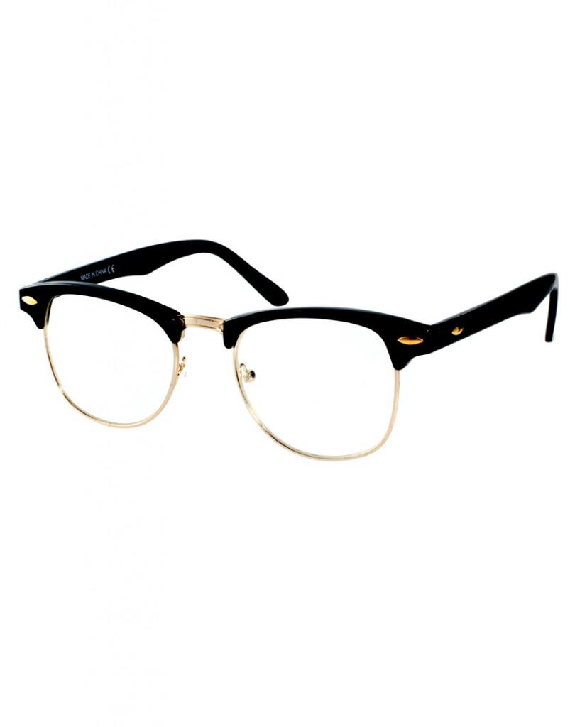 Очки с прозрачными линзами