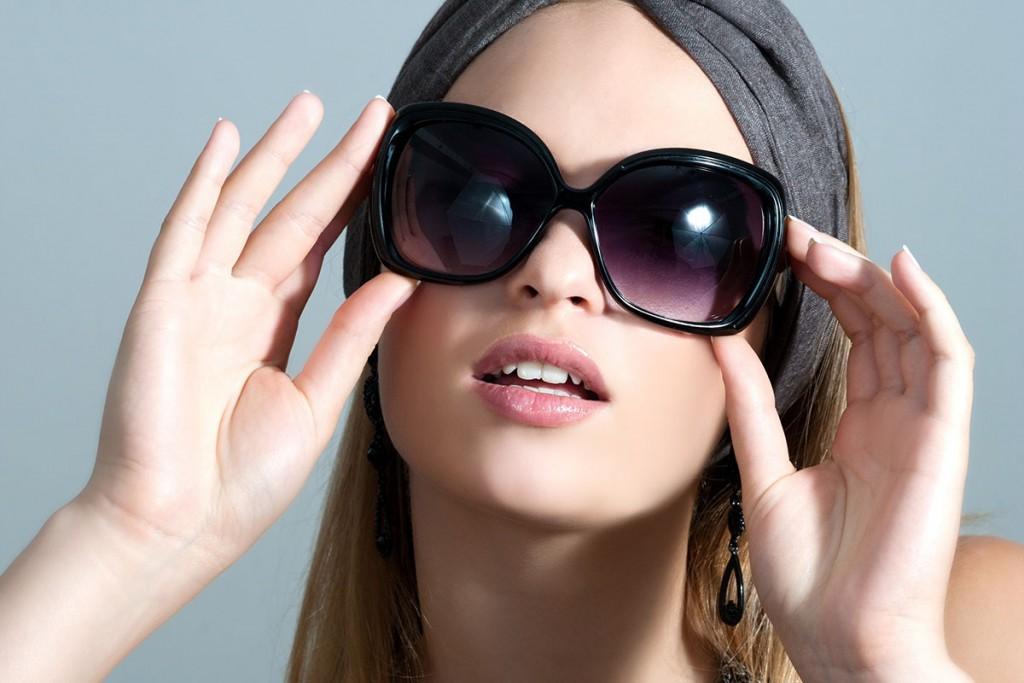 Солнцезащитные очки с квадратными линзами