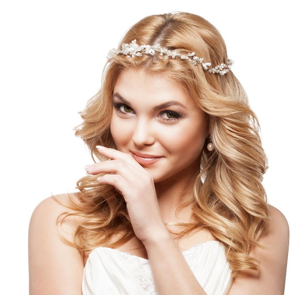 Свадебный ободок на голову