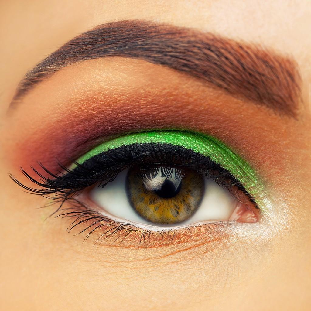 Макияж серо-зеленых глаз в картинках