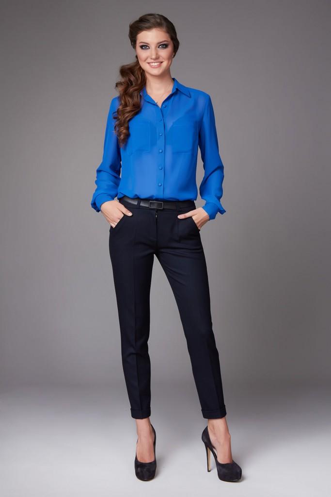 Блуза с длинным рукавом с брюками
