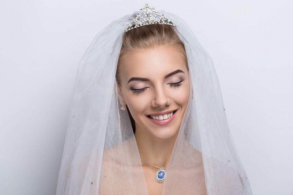 Небольшая свадебная тиара