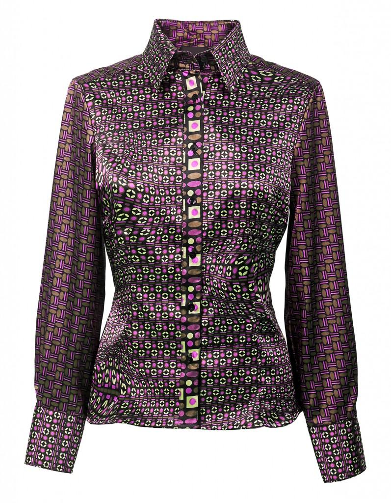 Блуза с орнаментом