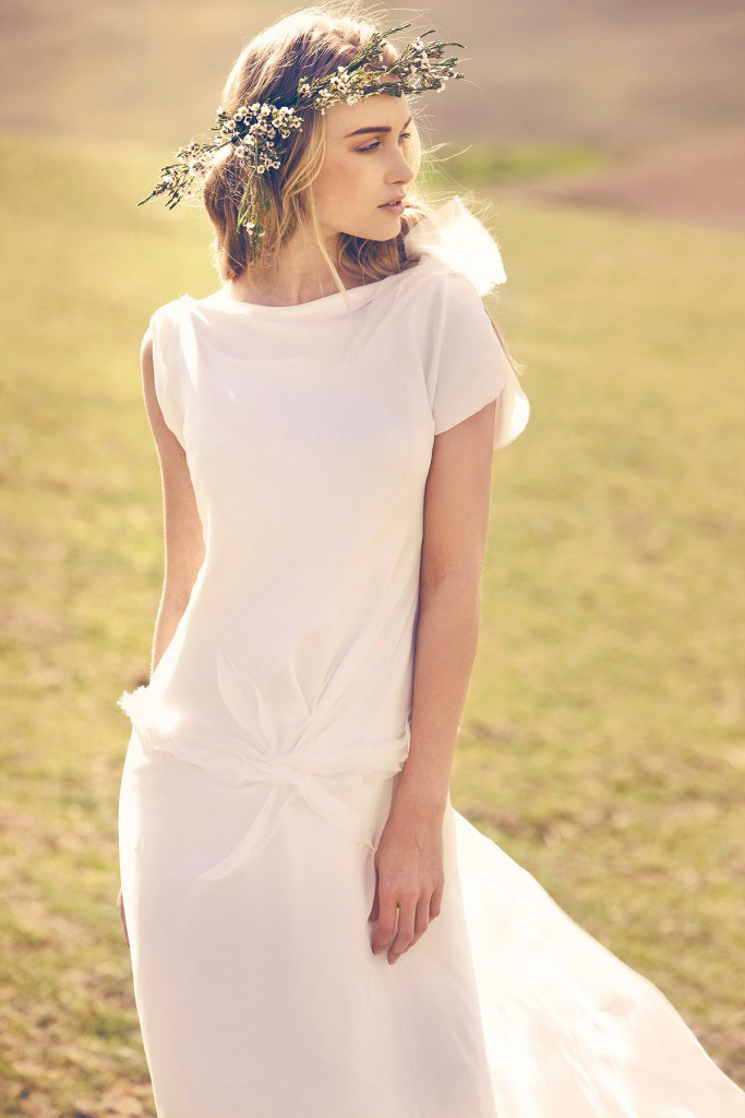 Греческое платье с венком