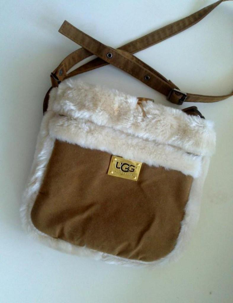 Модная меховая сумка