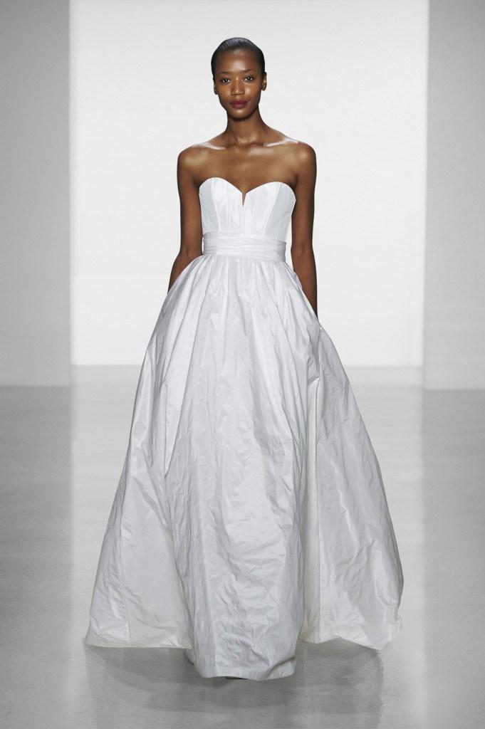 Свадебное платье от Amsale Aberra