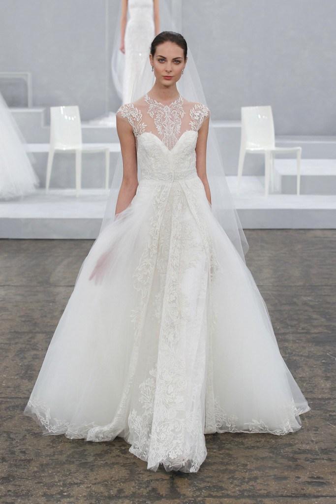 Свадебное платье от Carolina Herrera