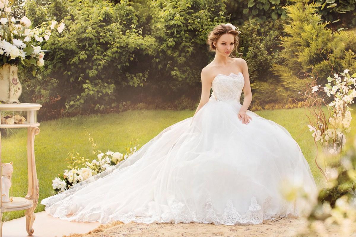 25623d5b7df Длинное свадебное платье ...